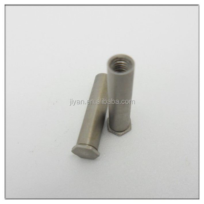 Stainless steel round female threaded standoff m6
