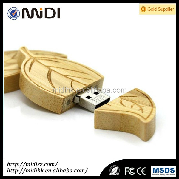 2017 Wholesale High Speed Bulk Wood Usb Flash Drive 4gb-128gb as Business cooperation gift