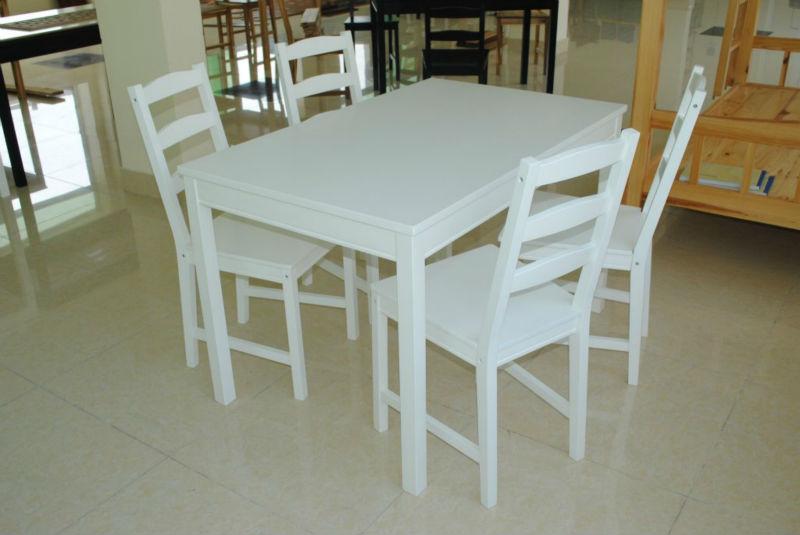 Juego De Comedor (color Blanco) - Buy Juego De Comedor Product on ...