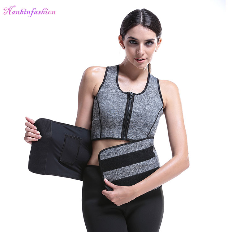 73da4e1c16c94 Waist Trainer Corset Slimming Neoprene Sweat Sauna Vest For Women Weight  Loss