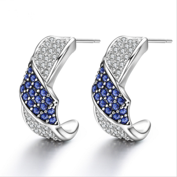 Latest Model Fashion Earrings Cubic Zirconia Funky For College S