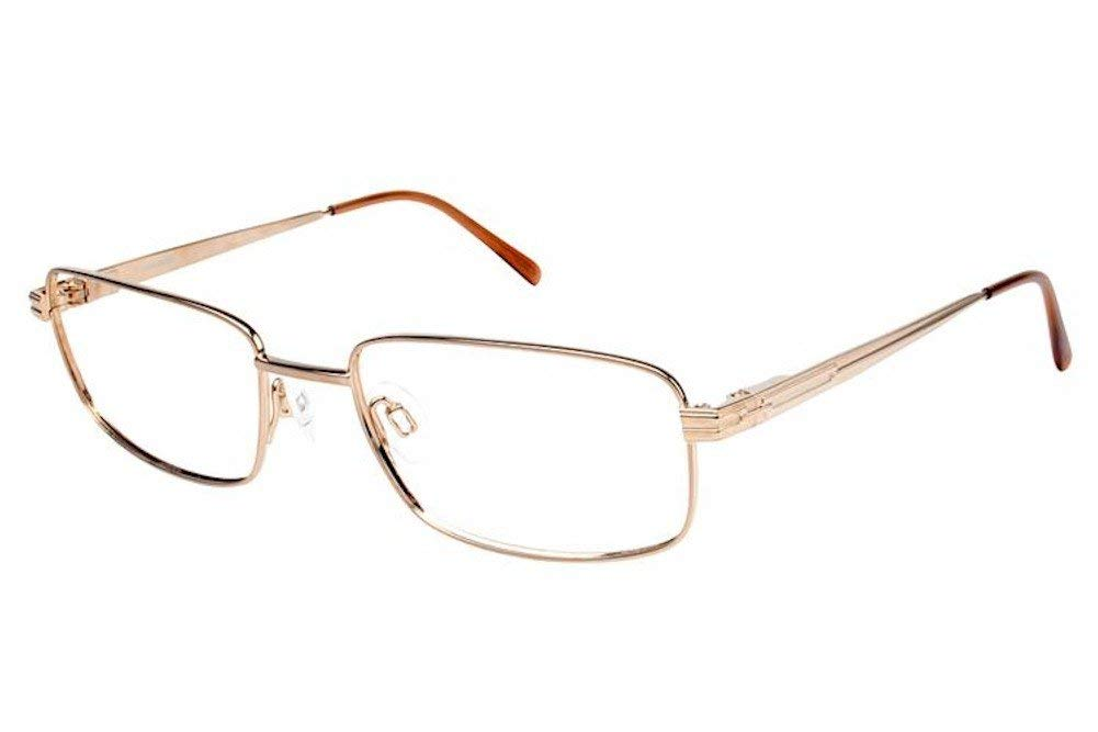 88f669bdcc214 Get Quotations · Charmant Eyeglasses TI10782 TI 10782 WG White Gold Full  Rim Optical Frame 53mm