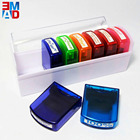 8 in 1 plastic colorful plastic funny self-inking teacher stamps