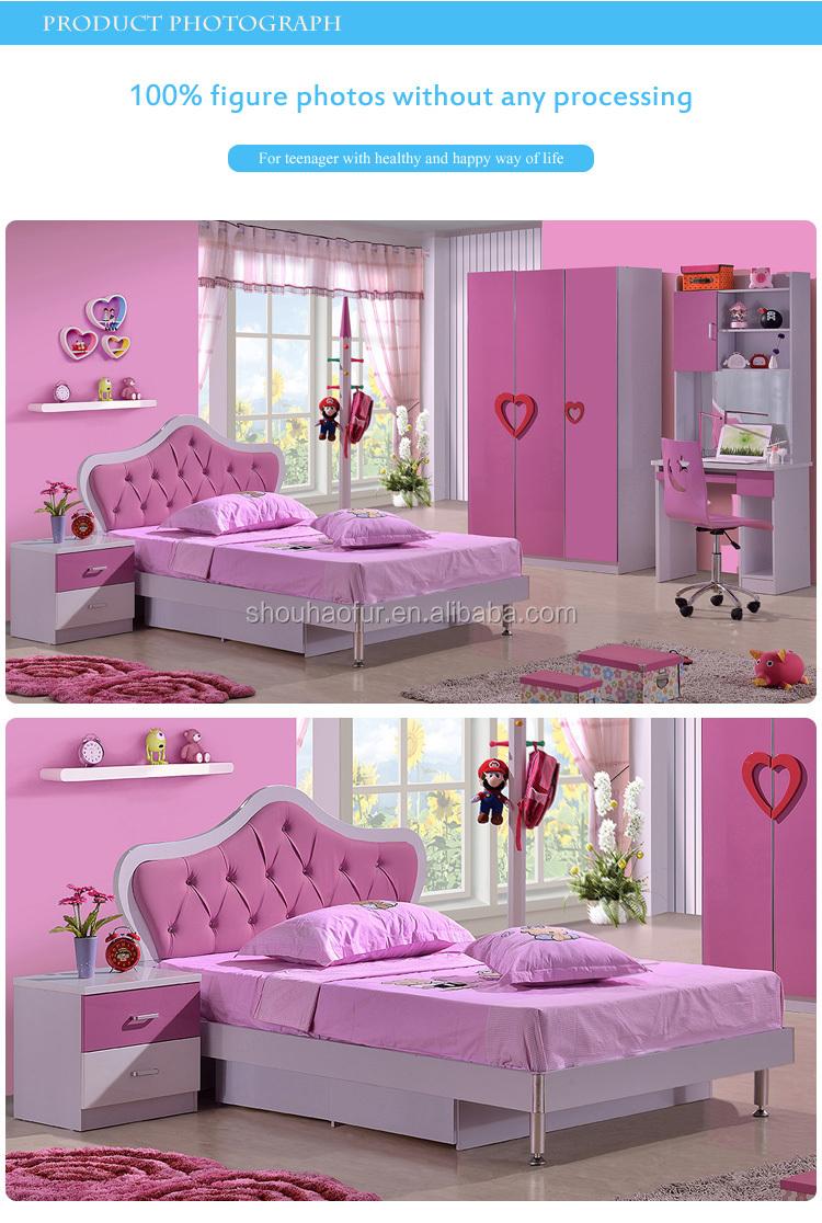 Venta Caliente Niños Muebles De Dormitorio,Cama De Lujo 8101b ...