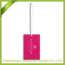 fashion paper hangtag for clothing
