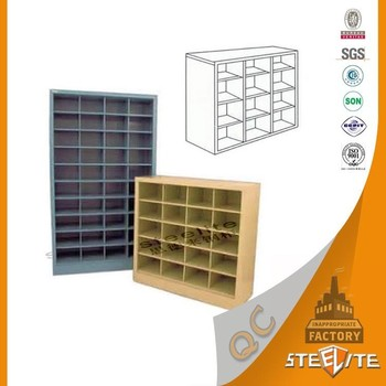Widely Use Commercial Furniture Spare Parts Storage Cabinet/Pigeon Hole  Cabinet