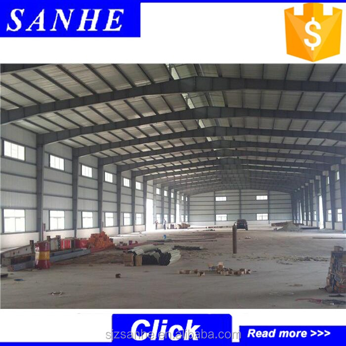 Pre-fabricated light steel structure factory/plant/workshop