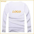 2019Top quality China online shop custom design men long sleeves crewneck t-shirt/custom cotton blank t shirt/wholesale t shirts