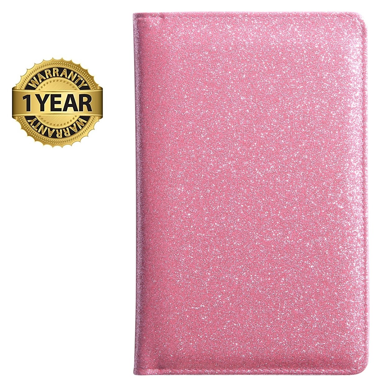 Server Book for Waitress Waiter Book Bling Waitstaff Organizer Fit Apron (Glitter Pink)