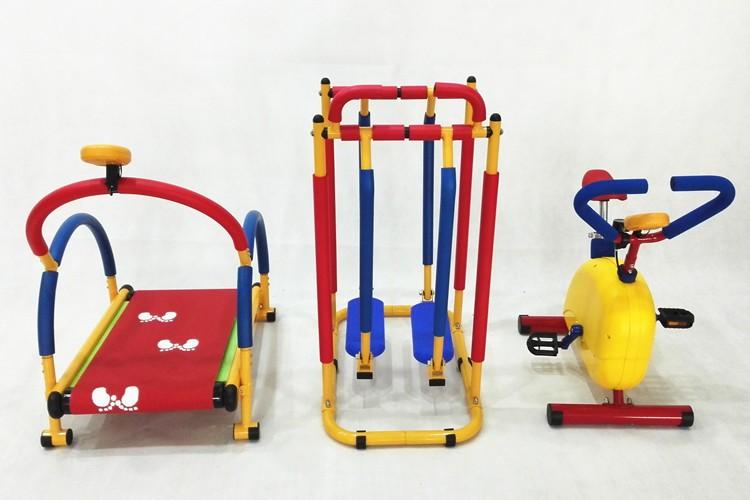 Hot selling children running machine kids gym equipment for Indoor gym equipment for preschool