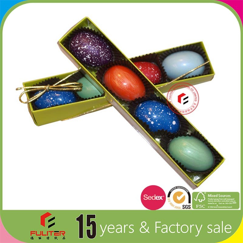 Custom cardboard paper egg boxes easter egg shape box for Design your own egg boxes
