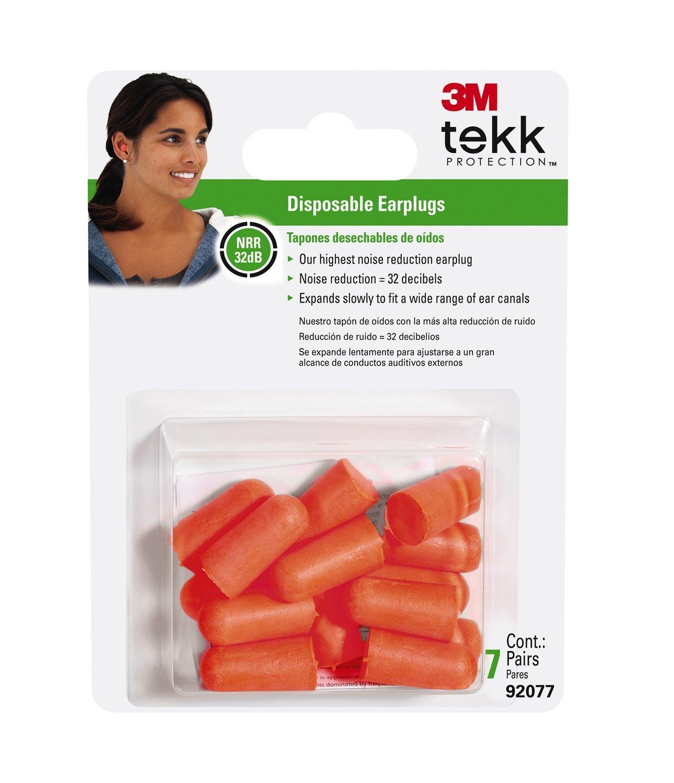 3M 92077-80025L Tekk Protection Lawn and Garden Earplugs