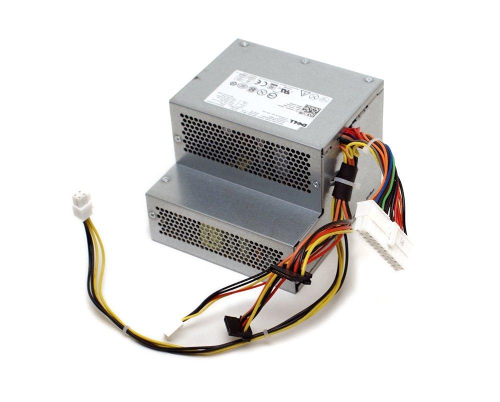 Genuine Dell H790K Optiplex 360 Desktop (DT) System 255W Power Supply PSU, Compatible Part Numbers: H797K, HP-D2553A0 02LF, F225E-01, Compatible Model Number: H255E-01