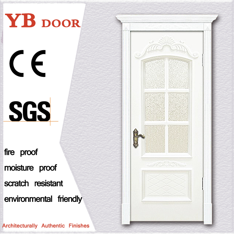 coloured frosted store grey traditional exterior wooden doors in uae contemporary entry door YBVD-6183