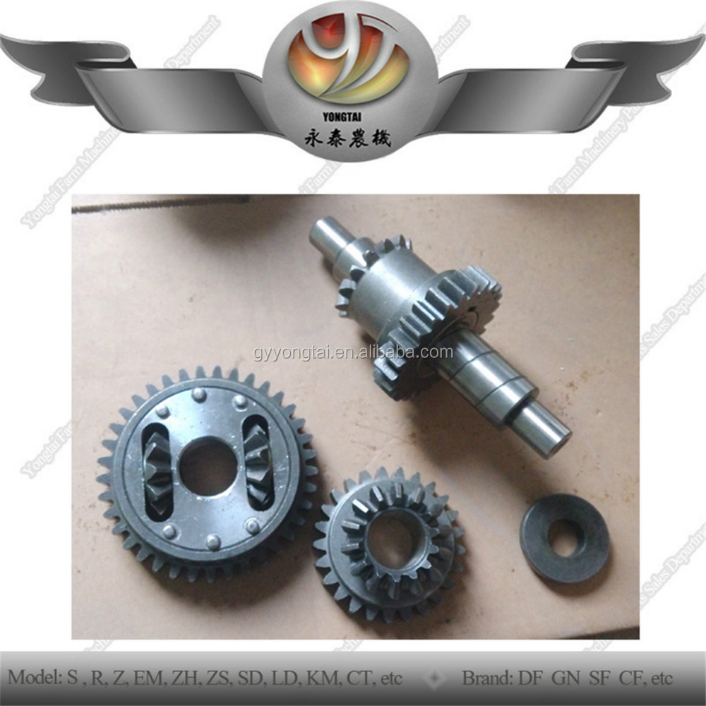 Walking tractor GN121 GN151 gears, factory GN121 Gongnong 151 gears and gear shafts