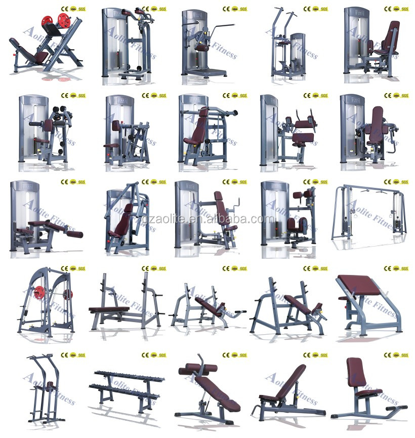 Good price health fitness center gym indoor equipment for Cost of building a gym
