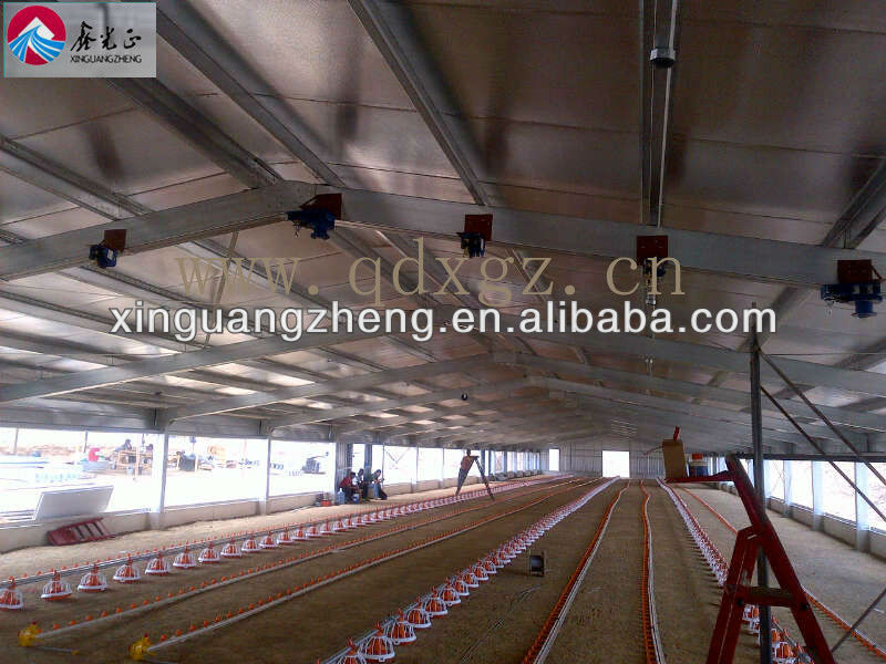 different types of poultry house for chicken house farm trusses for 10000 chickens sale