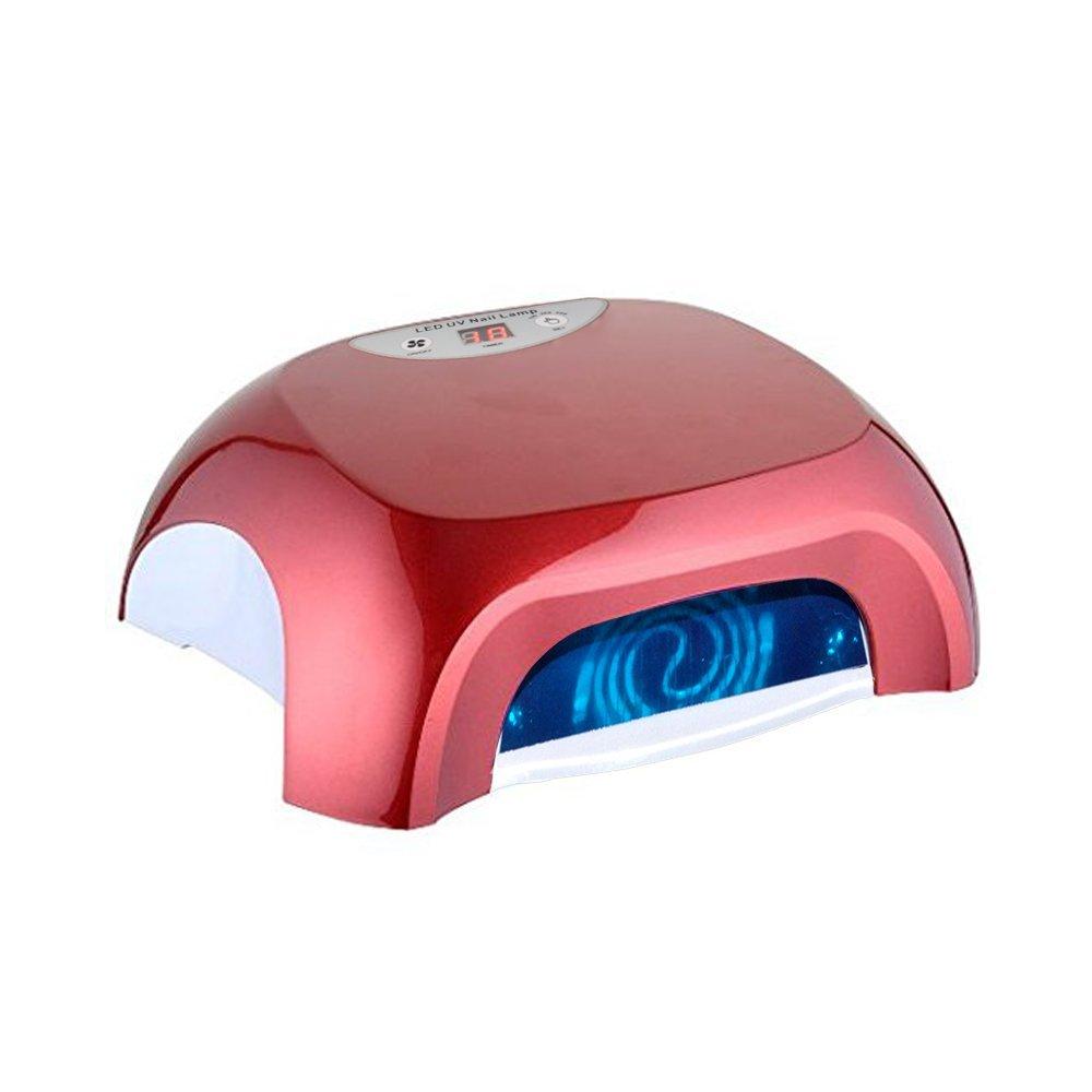ETTG UV Light Lamp Electric Nail Dryer 36W Mini Heart Shape Gel Portable Manicure Tool for Fast Drying Nail Polish/SPA Equipment/Professional Beauty Salon and Home Use- Automatic Shutoff