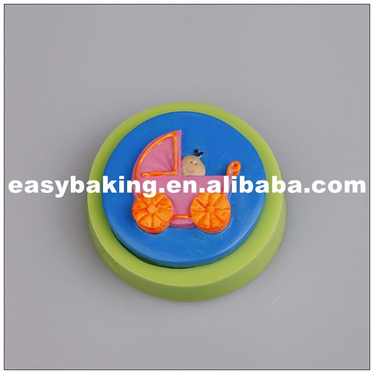 es-8413_mgFood Grade Baby Carriage Soap Silicone Mold For Cake Fondant Decoration_7326.jpg