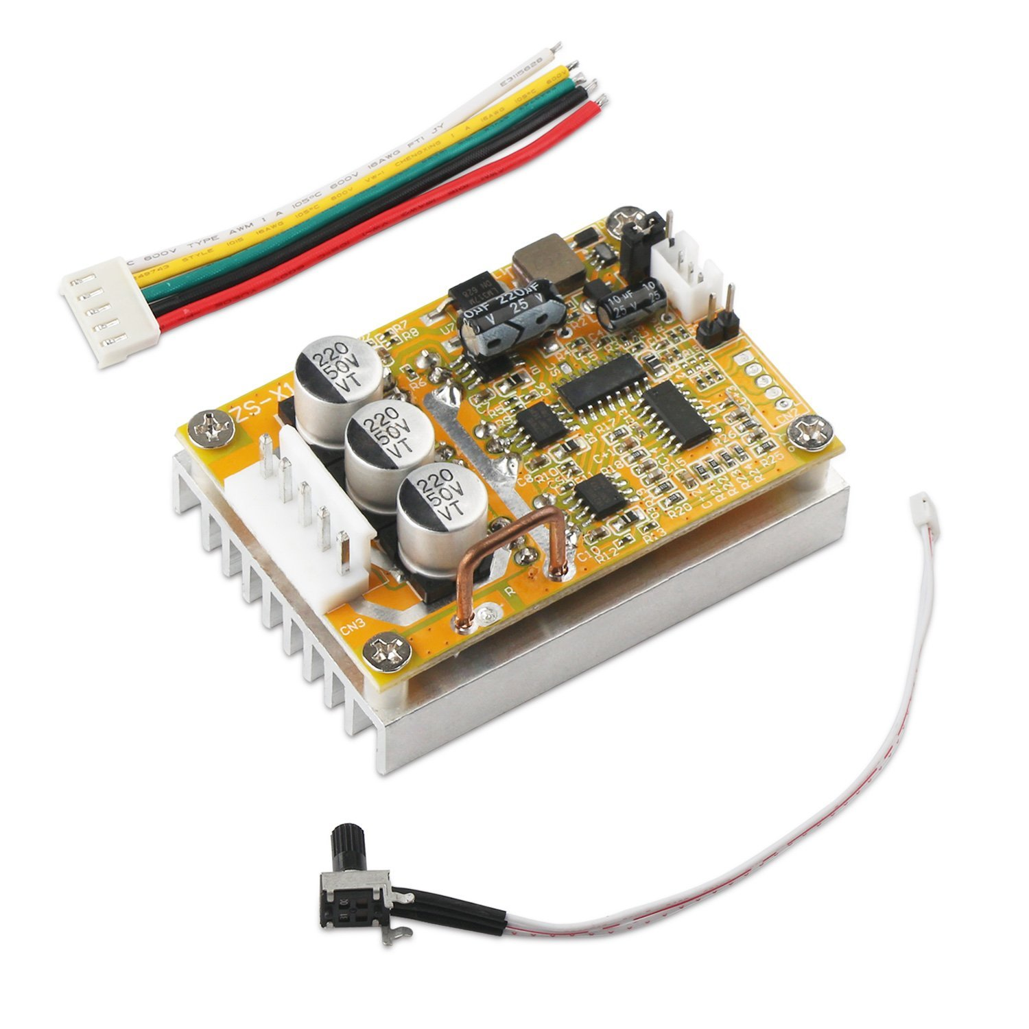 Cheap Plc Motor Control Circuit Find Bldc Get Quotations Drok Dc 5 36v Three Phrase Brushless Sensorless Board Driver
