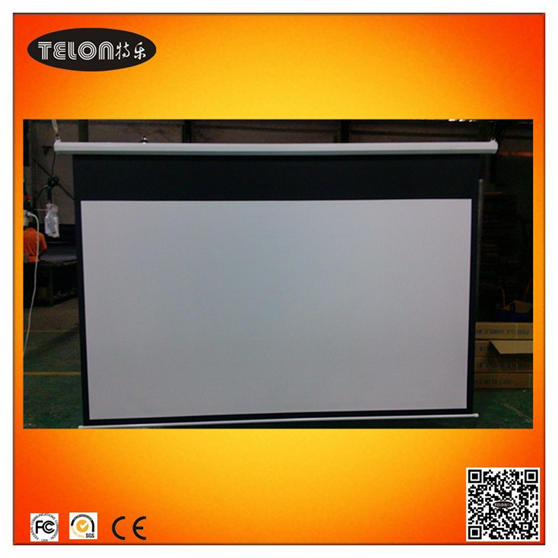 Full Dh Home Theater Projector Screens Motorized Projector