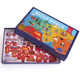 MIDEER 31 PCS World Map Magnetic Sticker Kit Refrigerator Kids Montessori Learning Puzzle Educational Toy Kid Gift MD1018 1