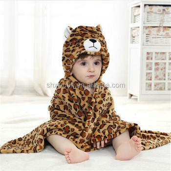 Hooded Baby Bath Towel Baby Soft Towel Hooded Blankets For Kids ...