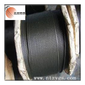 Steel wire cable 6x19 IWRC 7mm,Crane wire rope