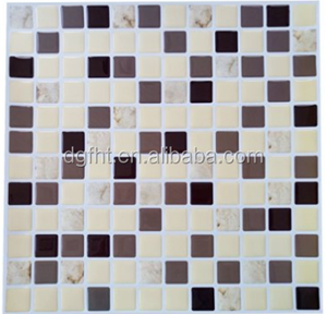 Bliss Bamboo Stone and Glass Linear Mosaic Tiles - bathroom walls/ kitchen backsplash