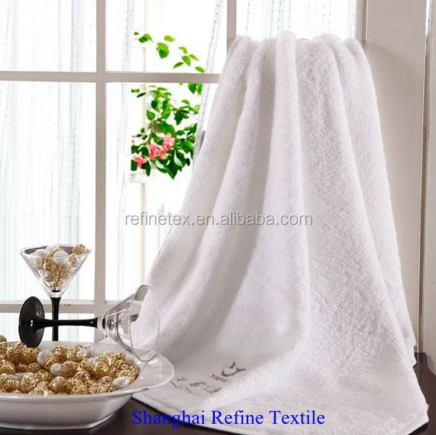 500gsm towels bath set 100 cotton custom white towels
