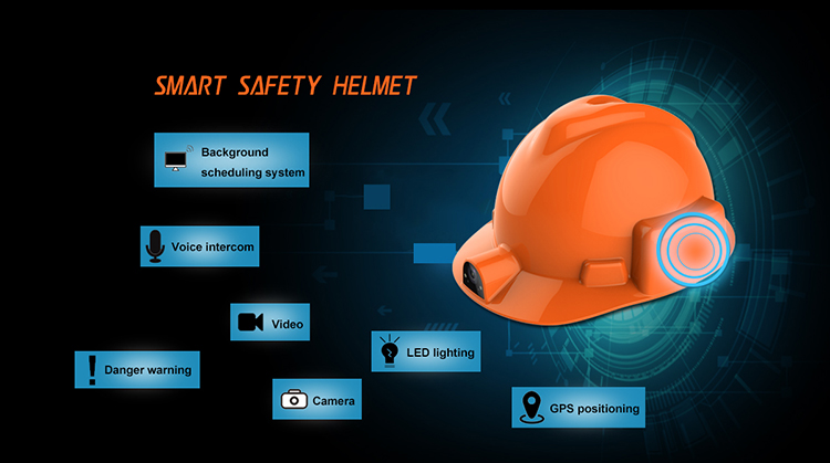 Smart safety Helmet With 13.0mp HD camera