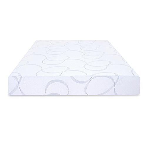 PrimaSleep 9 inch Aurora Multi-Layered I-Gel Infused Memory Foam Mattress, Twin