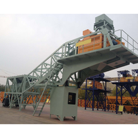 Mobile small concrete batching/mixing plant on sale