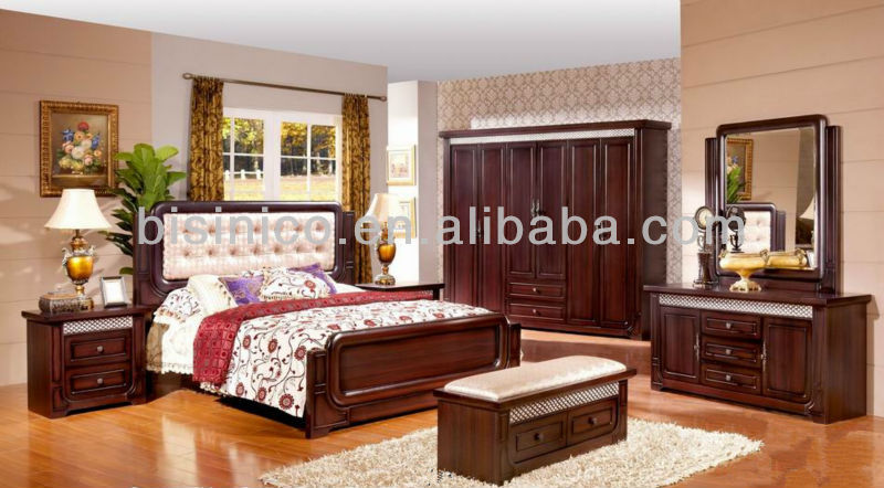 morden wood beds bedroom furniturefull set of solid wood furnitureneoclassical design furniture panel bed w back cushion buy wood carving bedroom - Full Bedroom Furniture Designs