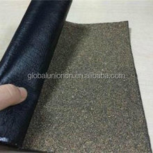 4.0mm Torch Down Roofing for Commercial Rubber Roofs - 2 rubber membranes with a fiber base.