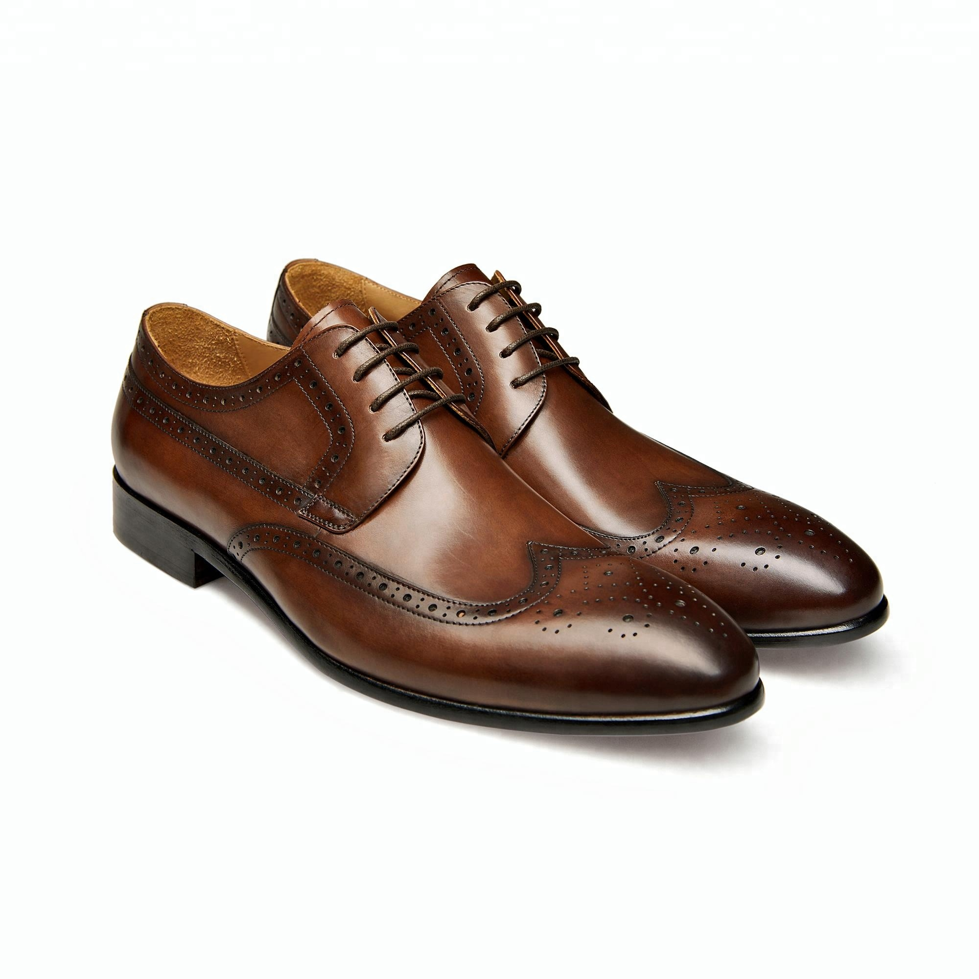 dress genuine leather 2018pure leather shoes brown OZ0Yzxq