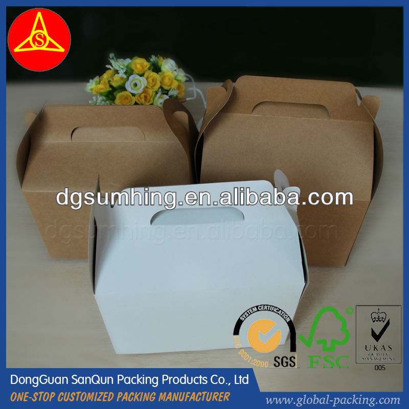 paper hamburger boxes paper food take-out food boxes