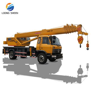 Double Winch Type Lift Load 16 Ton Truck Mounted Crane For Sale