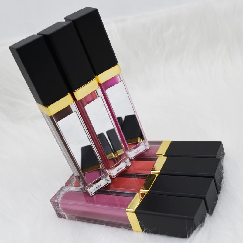 2019 hot sales glitter lipgloss private label with mirror waterproof lipgloss matte lipgloss lipstick фото