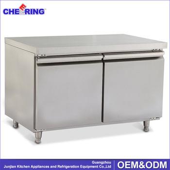 sandwich fan cooling two door commercial undercounter refrigerator fridge - Commercial Undercounter Refrigerator