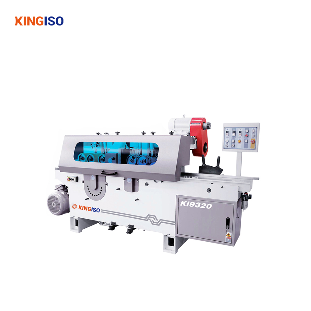 KI9320 Multiple Rip Double Side Planer Cutting and Planing Machine for MDF