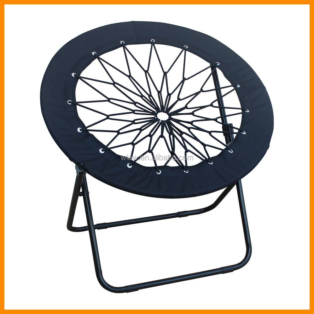 Black Mesh Round Folding Bungee Chair   Buy Bungee Chair,Folding Bungee  Chair,Round Bungee Chair Product On Alibaba.com