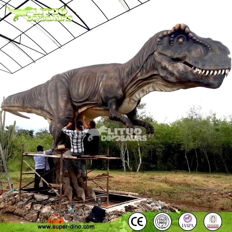 Life-size Animatronic T-rex Dinosaur Model for Sale