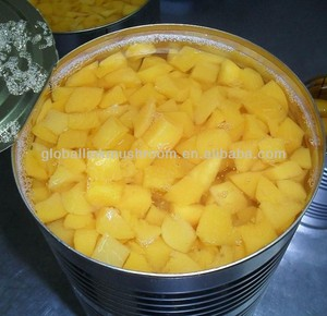 canned yellow peach dice