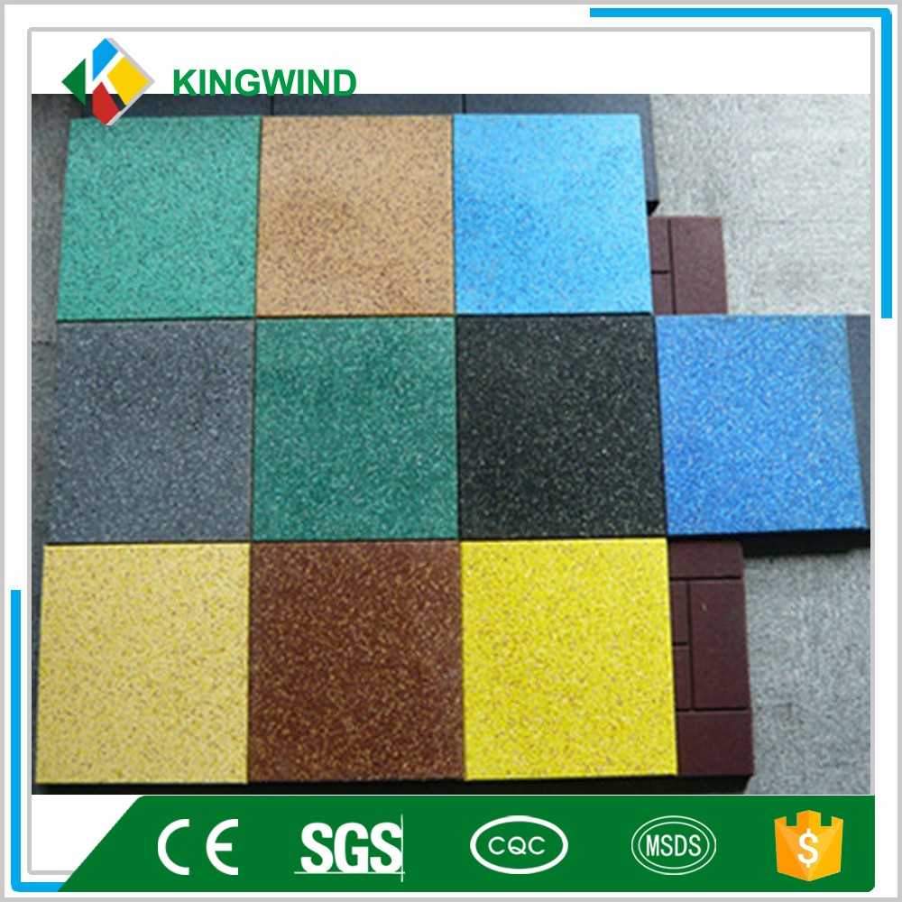 Rubber Flooring For Play Areas / Gym Floor Mat High Quality Gym ...