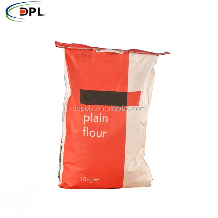 50kg Valve 2 Ply Kraft Paper Cement Bag