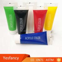 customized liquid water based acrylic spray paints kit