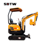 agricultural use mini bagger excavator with yanmar engine for sale