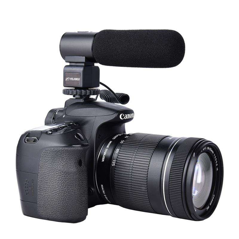 YELANGU Manufactured Professional Recording Microphones Mic03 for DSLR Cameras фото