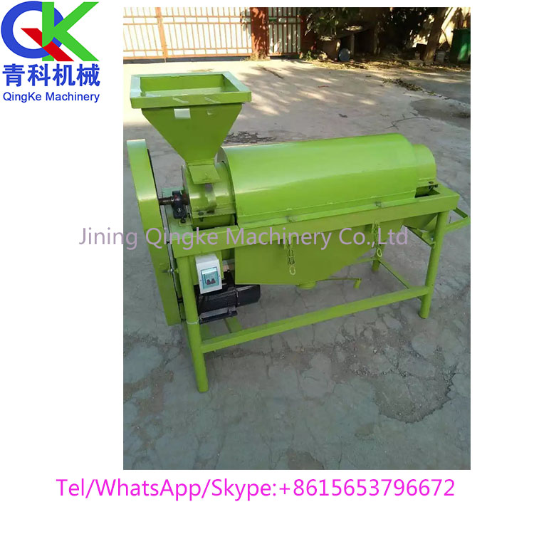 Sunflower seed Soybean Quinoa seed cleaning machine Grain polishing machine factory sale